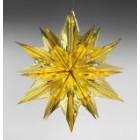 арт.Н241209-1 Звезда из фольги средняя, диаметр 60см, цвет-золото